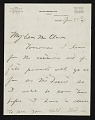 View Harry W. (Harry Willson) Watrous, New York, N.Y. letter to Thomas B. (Thomas Benedict) Clarke digital asset number 0