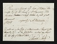 View Receipt for payment by William Hamilton Page to A. Wertmuller digital asset number 0