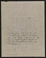 View Oscar Bluemner letter to John Davis Hatch digital asset: verso