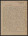 View Oscar Bluemner letter to John Davis Hatch digital asset number 0