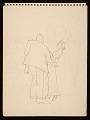 """View Palmer Hayden sketchbook, """"John Henry sketches"""" digital asset number 0"""