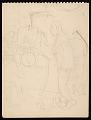 """View Palmer Hayden sketchbook, """"John Henry sketches"""" digital asset number 1"""