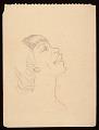 """View Palmer Hayden sketchbook, """"John Henry sketches"""" digital asset number 2"""