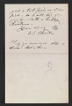 View Frederic Edwin Church letter to Martin Johnson Heade digital asset number 2