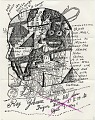 View Ray Johnson mail art to John Held digital asset number 0