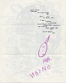 View Ray Johnson mail art to John Held digital asset: verso