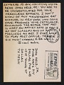 View Carl Andre postcard to John Held Jr. digital asset number 0