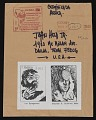 View Edgardo Vigo mail art to John Held Jr. digital asset number 0