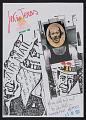 View Robin Crozier mail art to John Held Jr. digital asset number 0