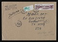 View Ben Vautier mail art to John Held Jr. digital asset: envelope