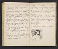 View William Penhallow Henderson diary digital asset: pages 125