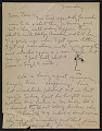 View Philip Guston letter to Thomas Hess digital asset number 0