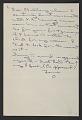 View Elaine Marie De Kooning letter to Thomas Hess digital asset number 1