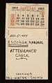 View Hans Hofmann School of Fine Arts attendance records digital asset number 1