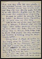 View Romare Bearden letter to unidentified recipient digital asset: page 5