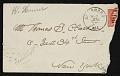 View Winslow Homer to Thomas B. (Thomas Benedict) Clarke digital asset: envelope