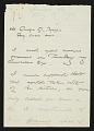 View Winslow Homer to George G. Briggs digital asset number 0