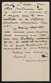 View Winslow Homer letter to Louis Prang digital asset number 2