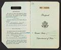 View Walter Horn's passport digital asset: pages 1