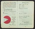 View Walter Horn's passport digital asset: pages 2