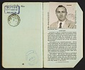 View Walter Horn's passport digital asset: pages 10