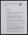 View Robert Gordon Sproul letter to Walter William Horn digital asset number 0