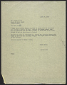 View Howard Wise letter to unidentified recipient, Venice, Italy digital asset number 0