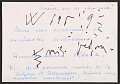 View Howard Wise letter to unidentified recipient, Venice, Italy digital asset: postcard back 1