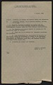 View Harry V. Anderson inventory and receipt for Hermann Göring art collection submitted to Commanding General, 101st Airborne Division digital asset: page 1