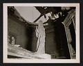View Statue of the Virgin Mary inside La Gleize Church in Belgium, after the Battle of the Bulge digital asset number 0