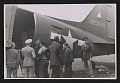 View Officers standing by an army plane loaded with the Ghent Altarpiece digital asset number 0