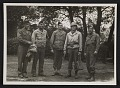 View Walker Hancock, Lamont Moore, George Stout and two unidentified soldiers in Marburg, Germany digital asset number 0