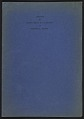 View Inventory of Hermann Göring art collection at Unterstein, Germany digital asset: cover