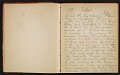 View Grace Anna Storrs Hunt travel diary digital asset: pages 2