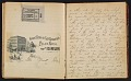 View Grace Anna Storrs Hunt travel diary digital asset: pages 34