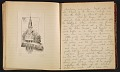 View Grace Anna Storrs Hunt travel diary digital asset: pages 43