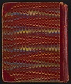 View Grace Anna Storrs Hunt travel diary digital asset: cover back