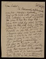 View William Zorach letter to Dahlov Zorach Ipcar digital asset number 0