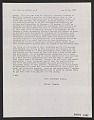 View Letter from Walter Gropius to John J. McCloy digital asset number 0