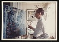 View Eric Isenburger painting the portrait of Alice and John Rewald digital asset number 0
