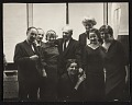 View Eric and Jula Isenburger with Alexander Archipenko and others digital asset number 0