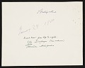 View Eric and Jula Isenburger with Alexander Archipenko and others digital asset: verso