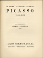 View Exhibition catalog 'Twenty Years in the Evolution of Picasso' digital asset: page 1