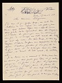 View Giorgio De Chirico, Milan, Italy letter to Jacques Seligmann digital asset number 0