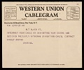 View Giorgio De Chirico, Paris, France telegram to Jacques Seligmann, New York, N.Y. digital asset number 0