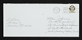 View Dan Flavin letter to Ellen H. Johnson digital asset: envelope