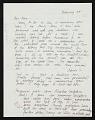 View Mary Miss letter to Ellen H. Johnson digital asset number 0