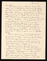 View George Segal letter to Ellen H. Johnson digital asset number 0