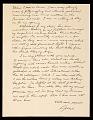 View George Segal letter to Ellen H. Johnson digital asset number 1