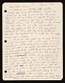 View Peter Saul, Mill Valley, Calif. letter to Ellen H. Johnson digital asset number 0